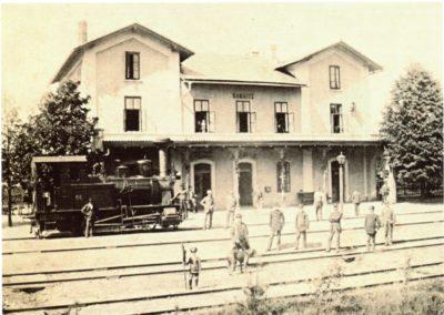 Česká Kamenice, nádraží, foto Zdeněk Fryblík