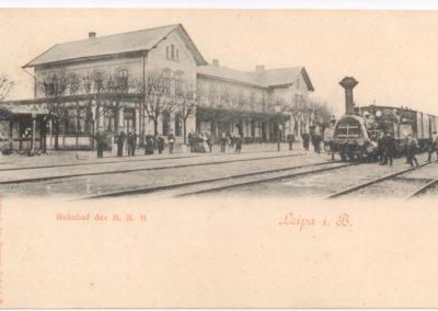 Česká Lípa, nádraží, Jiří Kratochvíl
