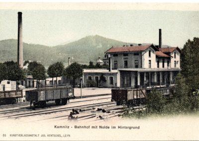 Nádraží Česká Kamenice, foto Zdeněk Fryblík
