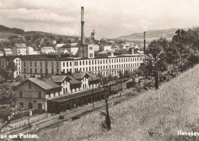 Nádraží Benešov nad Ploučnicí, foto Luděk Smejkal
