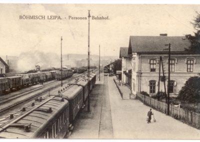 Nádraží v České Lípě, foto Jiří Kratochvíl